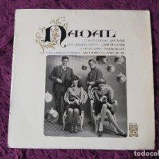"Discos de vinilo: NADAL ,VINYL 7"" EP 1965 SPAIN GUILLEM D'EFAK LLEÓ SEGARRA GUILLERMINA MOTTA .... Lote 277052268"