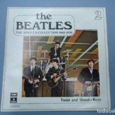 Discos de vinilo: THE BEATLES - TWIST AND SHOUT BOYS EDICIÓN LIMITADA DEL CONJUNTO DE THE BEATES THE SINGLES COLLECTI. Lote 277053318