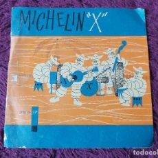"""Disques de vinyle: MICHELIN """"X"""" ,VINYL FLEXI-DISC, 7"""" SINGLE SPAIN 1960 873. Lote 277055748"""