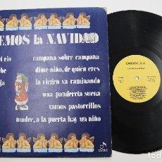 Discos de vinilo: LP VINILO DE GRUPO NINS LP CARDISC 1978 CANTEMOS LA NAVIDAD. Lote 277056383