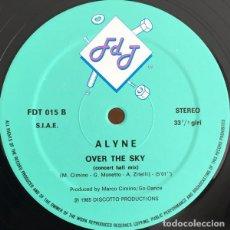 "Discos de vinilo: ALYNE - OVER THE SKY (12""). Lote 277058813"