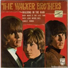 Discos de vinilo: THE WALKER BROTHERS - WALKING IN THE RAIN / BABY MAKE IT THE LAST TIME / FIRST LOVE NEVER DIES / LON. Lote 277061223
