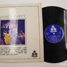 Discos de vinilo: LP VINILO DE DANCE PARTY CON JORGE DONCOS Y CONJUNTO 7X7 LP TREBOL 1970. Lote 277067878