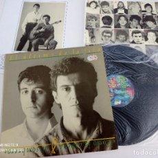 Discos de vinilo: EL ULTIMO DE LA FILA - COMO LA CABEZA AL SOMBRERO - LP ORIGINAL PDI 1988 // DISCO DE VINILO. Lote 277068933