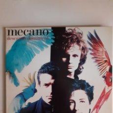 Discos de vinilo: MECANO. DESCANSO DOMINICAL. EDICION ESPECIAL DESPLEGABLE. 1988. SF 209192. DISCO VG++. CARÁTULA VG++. Lote 277069863