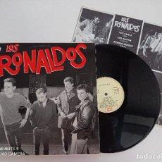 Discos de vinilo: LOS RONALDOS -ST - LP ORIGINAL EMI 1987 // DISCO DE VINILO. Lote 277070693