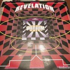 "Discos de vinilo: PODIUM – REVELATION. SELLO: TOP MUSIC – TP-014. FORMATO: VINYL, 12"",. ESTILO MAKINA. VG++ / VG+. Lote 277071228"
