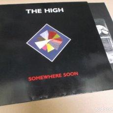 Discos de vinilo: THE HIGH (LP) SOMEWHERE SOON AÑO – 1990 – ENCARTE CON FOTOS. Lote 277072628