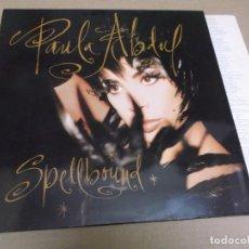 Discos de vinilo: PAULA ABDUL (LP) SPELLBOUND AÑO – 1991 – ENCARTE CON LETRAS. Lote 277072888