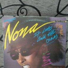 Discos de vinilo: NONA HENDRYX - IF LOOKS COULD KILL. Lote 277076833