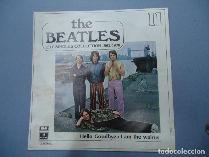 THE BEATLES - HELLO GOODBYE I AM THE WALRUS EDICIÓN LIMITADA DEL CONJUNTO DE THE BEATES THE SINGLES (Música - Discos - Singles Vinilo - Pop - Rock Internacional de los 50 y 60)