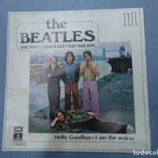 Discos de vinilo: THE BEATLES - HELLO GOODBYE I AM THE WALRUS EDICIÓN LIMITADA DEL CONJUNTO DE THE BEATES THE SINGLES. Lote 277077538