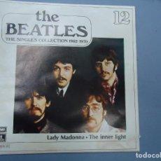 Discos de vinilo: THE BEATLES - LADY MADONNA THE INNER LIGHT EDICIÓN LIMITADA DEL CONJUNTO DE THE BEATES THE SINGLES C. Lote 277077943