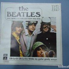 Discos de vinilo: THE BEATLES - OB - LA - DI OB - LA - DA WHILE MY GUITAR GENTLY WEEPS EDICIÓN LIMITADA DEL CONJUNTO. Lote 277079623