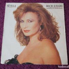 Discos de vinilo: ROCIO JURADO – SEVILLA , VINYL LP 1991 SPAIN EPC 469165 1. Lote 277079698