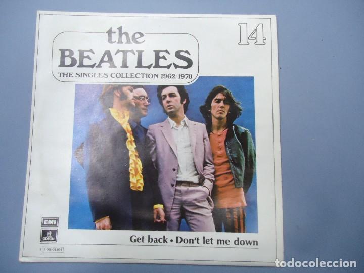 THE BEATLES - GET BACK DON`T LET ME DOWN EDICIÓN LIMITADA DEL CONJUNTO DE THE BEATES THE SINGLES COL (Música - Discos - Singles Vinilo - Pop - Rock Internacional de los 50 y 60)