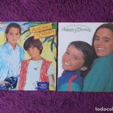 Discos de vinilo: ANTONIO Y CARMEN , 2 X VINYL LP SPAIN. Lote 277080173