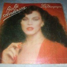 Discos de vinilo: BIBI ANDERSEN-CALL ME-ORIGINAL ESPAÑOL. Lote 277080508