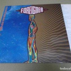 Discos de vinilo: FOREIGNER (LP) UNUSUAL HEART AÑO – 1991 – ENCARTE CON LETRAS. Lote 277080918