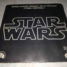 Discos de vinilo: BSO DE LA PELICULA-STAR WARS-ORIGINAL ESPAÑOL 1977. Lote 277081753