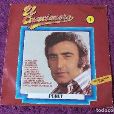 Discos de vinilo: PERET - EL CANCIONERO, ,VINYL LP 1979 SPAIN 2-1. Lote 277083593