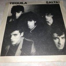 Discos de vinilo: TEQUILA-SALTA!-YA SOY MAYOR. Lote 277085763
