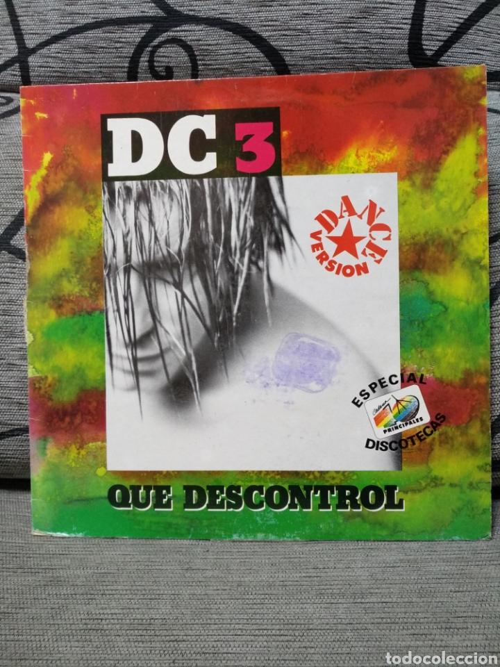 DC3 - QUE DESCONTROL (Música - Discos de Vinilo - Maxi Singles - Disco y Dance)