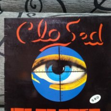 Discos de vinilo: CLOSED - ALGO PASA. Lote 277090128