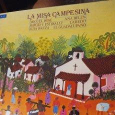 """Discos de vinilo: VINILO LP LA MISA CAMPESINA """" MIGUEL BOSE ANA BELEN SERGIO Y ESTIBALIZ ELSA BAEZA ..."""". Lote 277090978"""