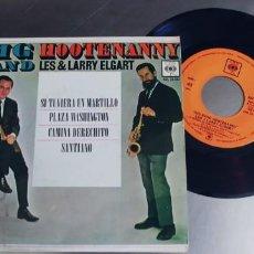 Discos de vinilo: LES Y LARRY ELGART-EP SI TUVIERA UN MARTILLO +3. Lote 277098483