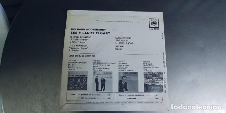 Discos de vinilo: LES Y LARRY ELGART-EP SI TUVIERA UN MARTILLO +3 - Foto 2 - 277098483