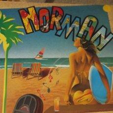 """Discos de vinilo: VINILO MAXISINGLE NORMAN """"LET'S GO TO THE BEACH"""". Lote 277100038"""