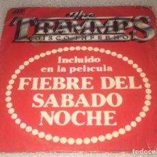 Discos de vinilo: SINGLE THE TRAMMPS - DISCO INFIERNO - YOU TOUCH MY HOT LINE - HISPAVOX ATLANTIC -PEDIDO MINIMO 7€. Lote 277103268