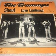 Discos de vinilo: SINGLE THE TRAMMPS - SHOUT - LOVE EPIDEMIC - BR MUSIC VR10825 -PEDIDO MINIMO 7€. Lote 277103303
