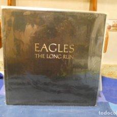 Disques de vinyle: LP EAGLES THE LONG RUN ASYLUM GFOLD ESPAÑOL MUY MUY MUY BUEN ESTADO DE DISCO 47. Lote 277112368