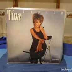 Discos de vinilo: LP TINA TURNER PRIVATE DANCER ESPAÑA 1984 MUY BUEN ESTADO GENERAL. Lote 277113323