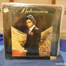 Discos de vinilo: LP FUNK SOUL HAMILTON BOHANNON HOMONIMO EN ZAFIRO BLACK FEELING SPAIN 76 VINILO ESTUPENDO. Lote 277113458
