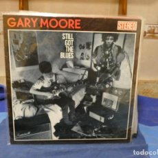 Discos de vinilo: LP GARY MOORE STILL GOT THE BLUES MUY SANO CON SEÑALES MUY MENORES DE USO. Lote 277113523