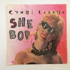Discos de vinilo: CYNDI LAUPER – SHE BOP / WITNESS HOLANDA,1984 PORTRAIT. Lote 277113708