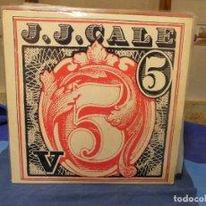 Discos de vinilo: LP ROCK SUREÑO J.J. CALE V 5 BUEN ESTADO CON UNA LINEA MUY MUY MENOR. Lote 277113723