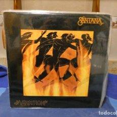Discos de vinilo: LP SANTANA MARATHON ESPAÑOL 1979 MUY BUEN ESTADO. Lote 277114068