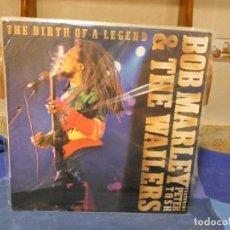 Discos de vinilo: LP BOB MARLEY AND THE WAILERS THE BIRTH OF A LEGEND EMBASSY 1980 MUY BUEN ESTADO GENERAL. Lote 277114238