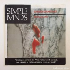 Discos de vinilo: SIMPLE MINDS – GHOSTDANCING / JUNGLELAND (INSTRUMENTAL VERSION) GERMANY,1986 VIRGIN. Lote 277114248