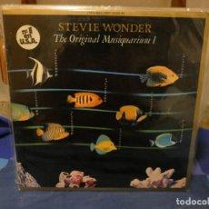 Discos de vinilo: DOBLE LP FUNK SOUL STEVIE WONDER THE ORIGINAL MUSIQUARIUM ESPAÑA 82 ESTADO EXCEPCIONAL 75. Lote 277114438