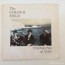 Discos de vinilo: THE COLOUR FIELD – THINKING OF YOU / MY WILD FLAME UK,1985 CHRYSALIS. Lote 277114523