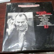 Discos de vinilo: LP EN LA SERIE WHO IS WHO IN JAZZ WOODY HERMAN BUEN ESTADO VINILO. Lote 277114988