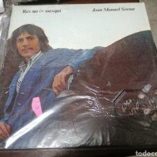 Discos de vinilo: LP GATEFOLD 1977 EDIGSA MUY BUEN ESTADO GENERAL JOAN MANUEL SERRAT RES NO ES MESQUI 40. Lote 277115088