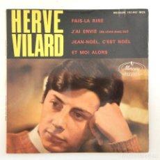 Discos de vinilo: HERVÉ VILARD – FAIS-LA RIRE FRANCE,1965 MERCURY. Lote 277115338