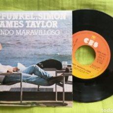 Discos de vinilo: CARFUNKEL, SIMON Y JAMES TAYLOR. Lote 277115863