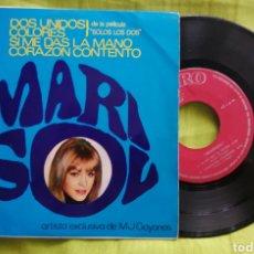 Discos de vinilo: MARISOL DOS UNIDOS. Lote 277116493